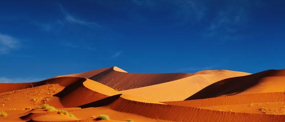 Fototapeta na wymiar Dunes of Namib Desert. Sossusvlei, Namibia.