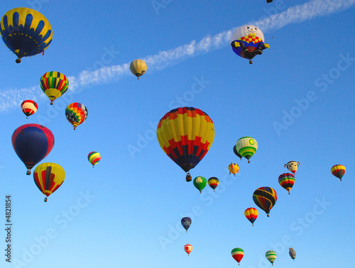 Fotografia, Obraz  Hot Air Ballons