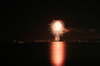 canvas print picture - FireWork No. 8