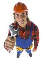 Builder With Adjustable Wrench