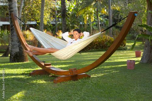 Fotografía  Woman on hammock