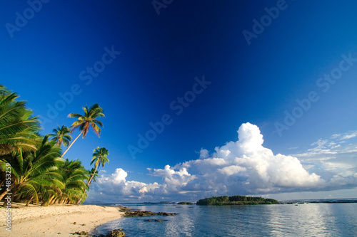Foto Rollo Basic - Beautiful tropical beach paradise