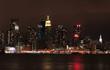 reflective city light