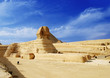 Leinwandbild Motiv sphinx - egypt