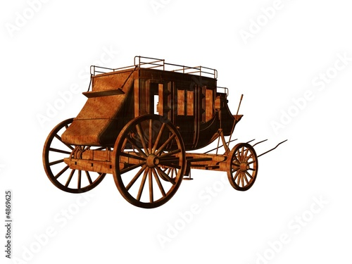 Fototapeta Stagecoach