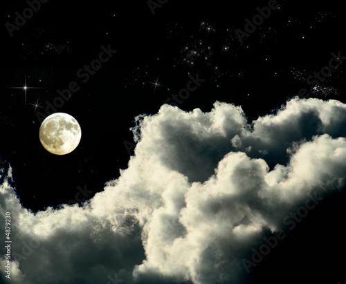 Obraz notte stelata - fototapety do salonu