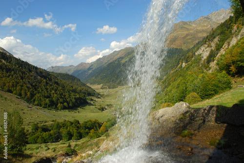 Falls in Pyrenees
