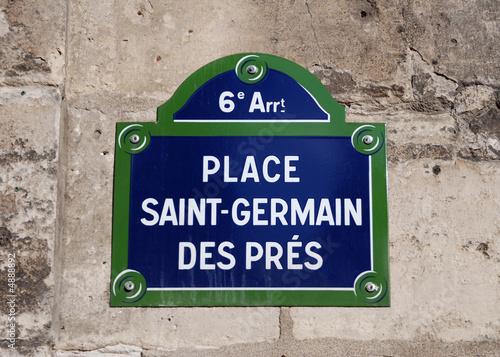 Fotografie, Obraz  Place Saint Germain des Prés