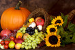 canvas print picture - Thanksgiving Bounty