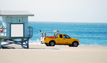 Lifeguard Truck And Station