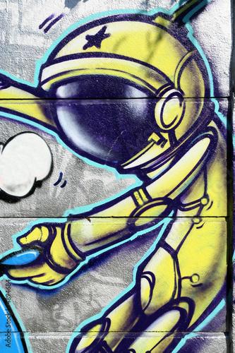 Fototapety, obrazy: graffiti