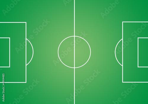 Obraz Fußballfeld 2 - fototapety do salonu