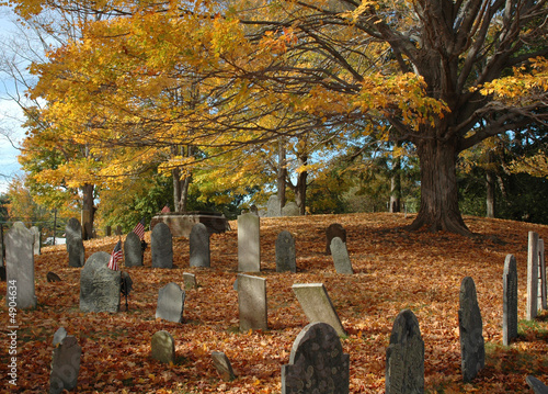 Photo Old Cemetery in October