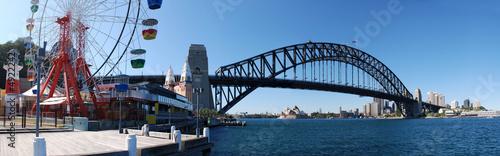 Staande foto Sydney Sydney Harbor Panorama