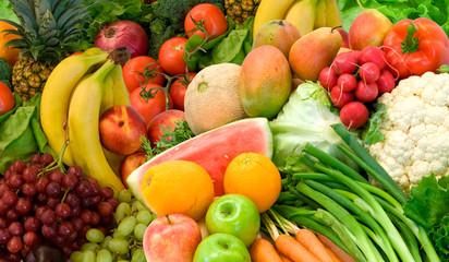Vegetables and Fruits Arrangement