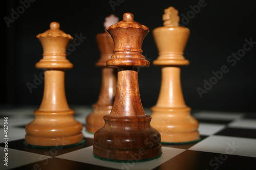 Fototapety, obrazy: chess kings and queens