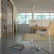 Modern Interior with books