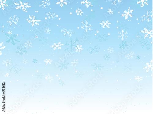 einzelne bedruckte Lamellen - Snowflake background (von Kirsty Pargeter)