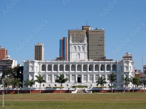Fotografie, Obraz Lopez Presidential Palace, Asuncion, Paraguay