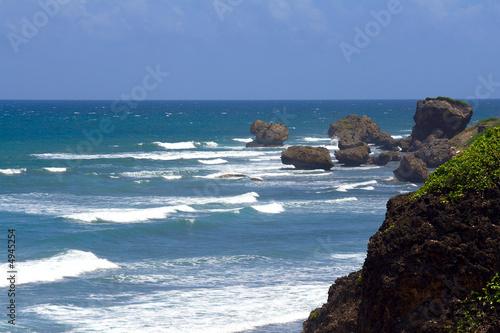 Foto-Leinwand - Barbados Ostküste