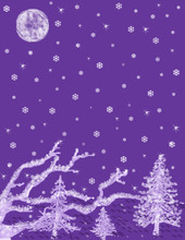Purple Frost Fantasy