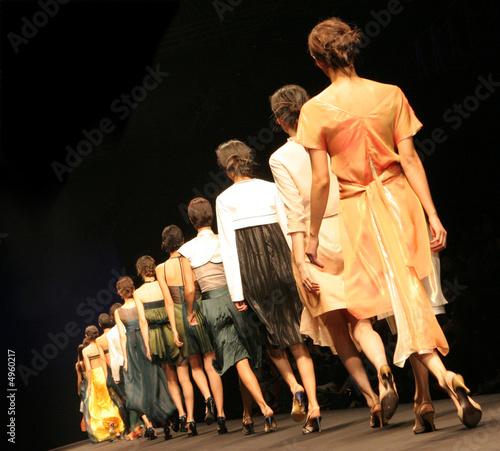 Fotografija  Fashion show.