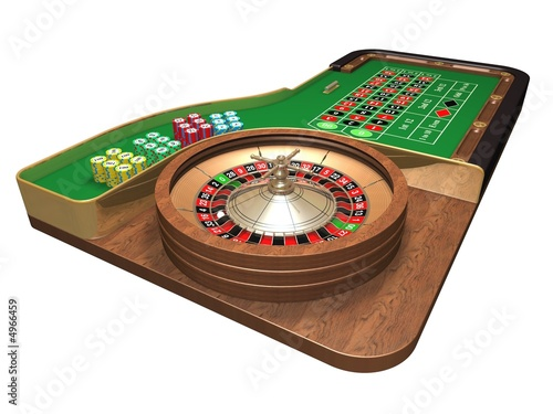 Roulette Table Poster