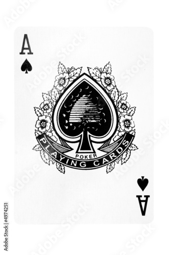 Fotomural Ace of Spades w/ Path