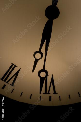 Fotografie, Obraz  old clock