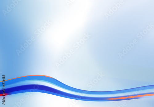 Photo Stands Abstract wave background 110711