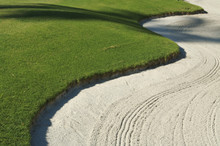 Abstract Of Bunker And Putting Green.
