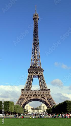 Foto-Kassettenrollo premium - Eifelturm, Paris