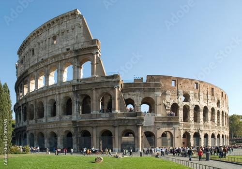 Fotobehang Rome Colosseo, Roma