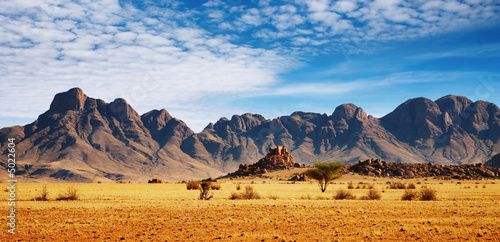 Aluminium Prints Drought Rocks of Namib Desert, Namibia