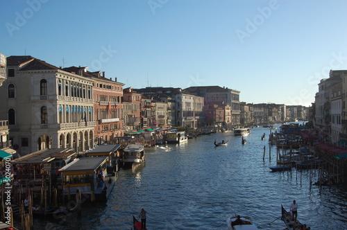 Stickers pour portes Venise Grand Canal Venice