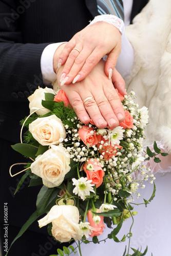 newlyweds Canvas-taulu