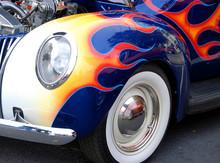 Custom Pinstripe Car