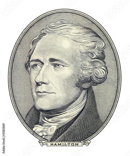 Fotografía Portrait of Alexander Hamilton