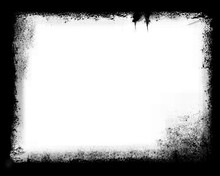 Grunge Border Frame Background For Photo