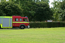 English Fire Engine Attending ...