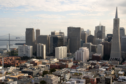 In de dag Los Angeles The Fascinating San Francisco Skyline