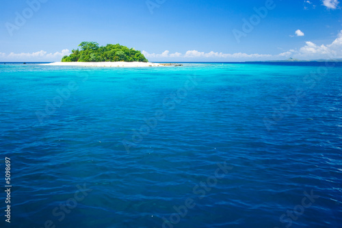 Canvas Prints Ocean Tropical island vacation paradise