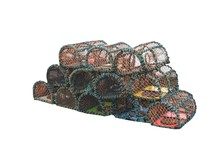 A Collection Of Fishing Lobster And Crab Pots.