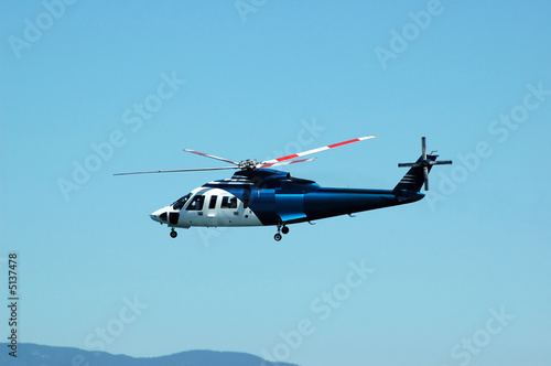 Valokuvatapetti Helicopter