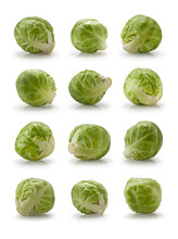 Twelve Brussels Sprouts