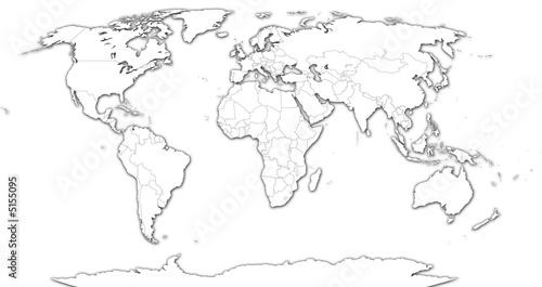Photo Stands World Map world-white2