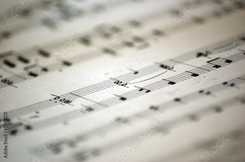 music notes 3 Wallpaper Mural