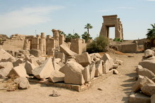 Ancient Temple In Luxor