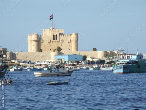 Obraz na plátně alexandrie - fort de qaiybay