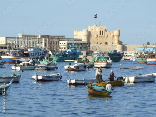 Fotografie, Obraz alexandrie - fort de qaiybay